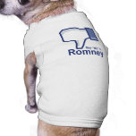Say No to Romney Doggie T Shirt