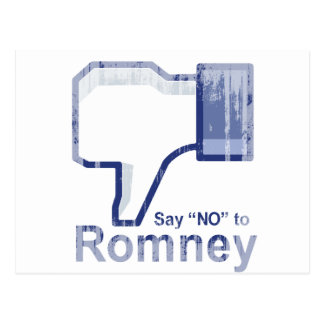 Say No to Romney.png Postcard