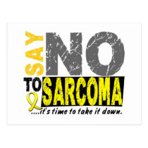 Say NO To Sarcoma 1 Postcard