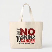 Say NO To Skin Cancer 1 Large Tote Bag