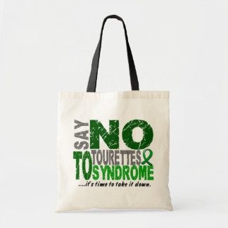 Say No To Tourette's Syndrome Bags