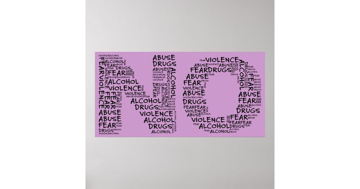 Say no to violence essay
