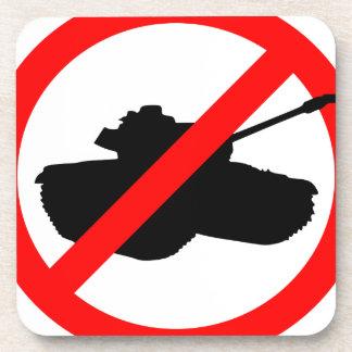 Say No To Wars Drink Coasters