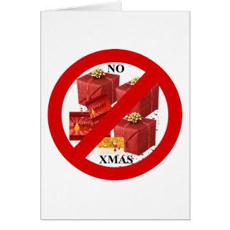 Say NO to Xmas Card