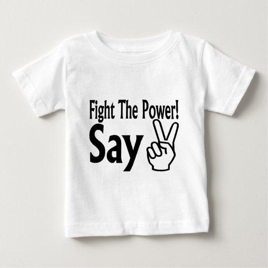 Say Peace Baby T-Shirt