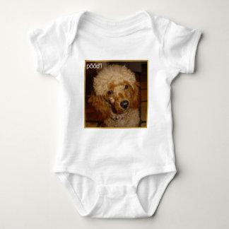 Say Poodle Baby Bodysuit