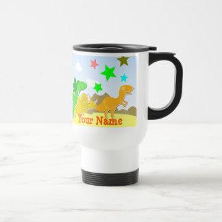 Say Rawr! Cartoon Dinosaurs Name Mug
