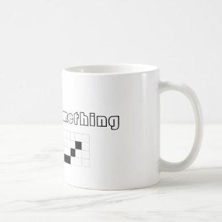Say something/ Digital Mouth Coffee Mug