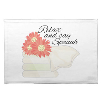 Say Spa Cloth Place Mat