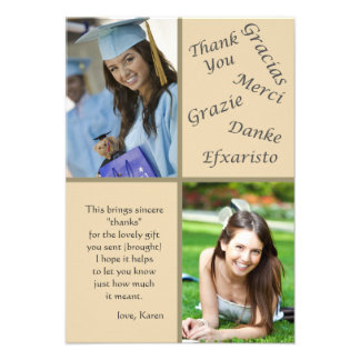 Say Thanks Photo Thank You Notes Invite