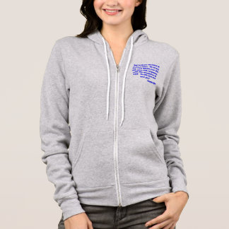 """Say to those who have an anxious heart,  """"Be stron Hoodie"""