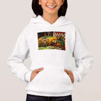 Say Trick or Treat with a Halloween Harvest Hoodie