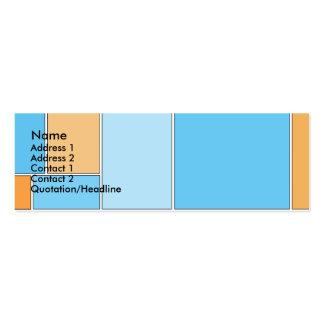 Say Tweet Mini Business Card
