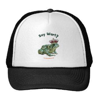 Say Wart Frog Toad Prince Mesh Hats
