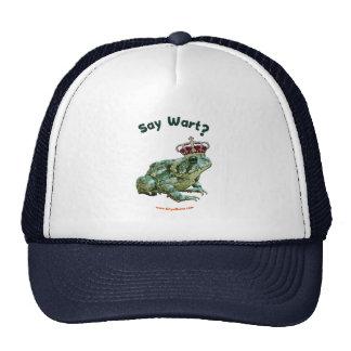 Say Wart Frog Toad Prince Trucker Hats