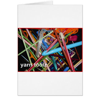 Say Yarn Tools Card