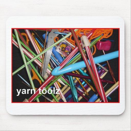 Say Yarn Tools Mouse Pad