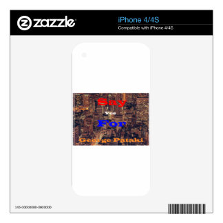 Say Yes for George Pataki Decals For The iPhone 4S