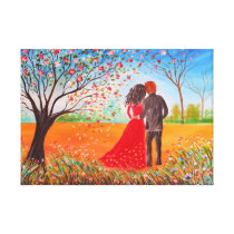 Say Yes My Love Canvas Print