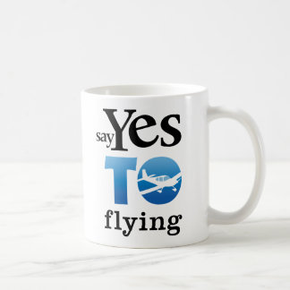 Say Yes To Flying Mugs