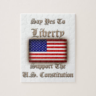 Say Yes To Liberty Jigsaw Puzzle