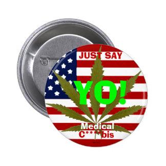 Say Yo! - Button