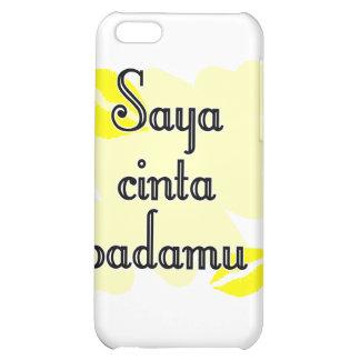 Saya cinta padamu - Indonesian I love you iPhone 5C Cover