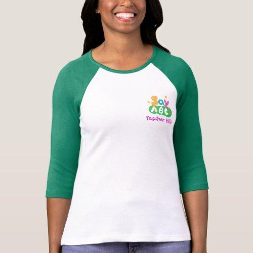 SayABC Teacher Shirt