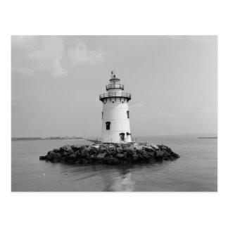 Saybrook Breakwater Light Postcard