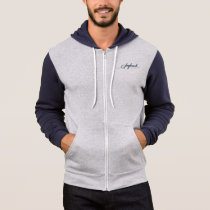Saybrook Men's Bella Canvas Full-Zip Hoodie