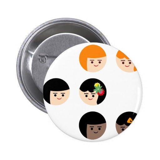 SayCheese Pin Redondo 5 Cm