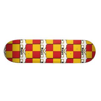 Saye Family Crest Skateboard Deck
