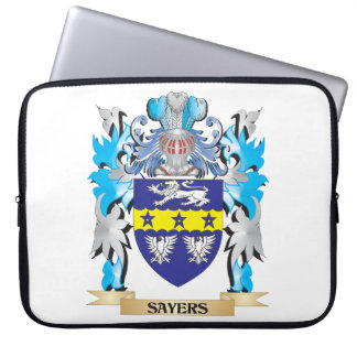 Sayers Coat of Arms - Family Crest Laptop Computer Sleeve