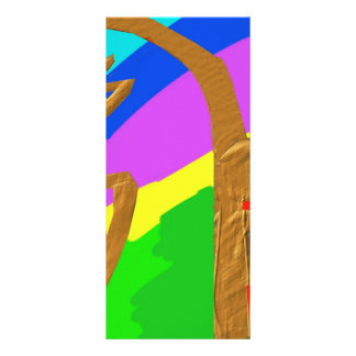 Sayhayki   BOLD Rainbow Rack Card