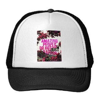 Saying - Amazing People Trucker Hat