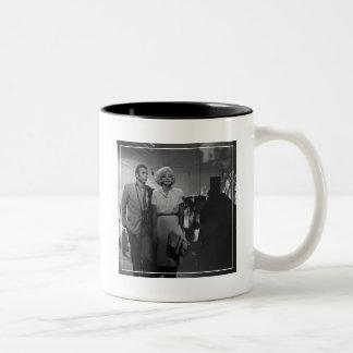 Saying Farewell Two-Tone Coffee Mug