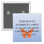 Saying Goodbye with Humor and Jest Pinback Buttons