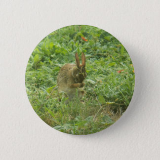 Saying Grace by Leslie Peppers Pinback Button