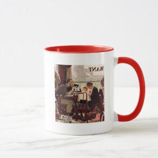 Saying Grace by Norman Rockwell Mug