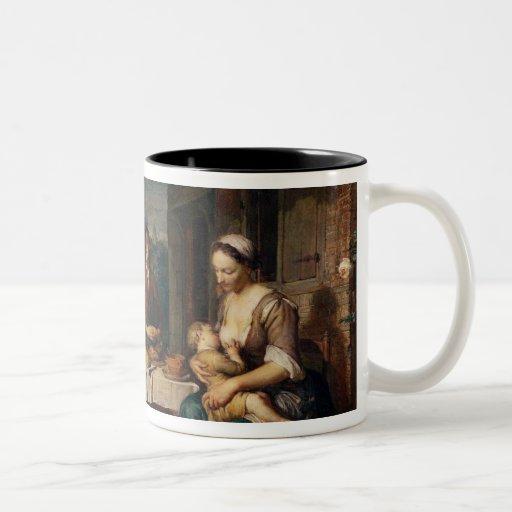 Saying Grace Two-Tone Coffee Mug