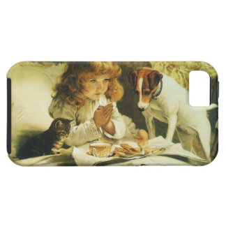 Saying Our Prayers, Suspense Charles Burton Barber iPhone 5 Cases