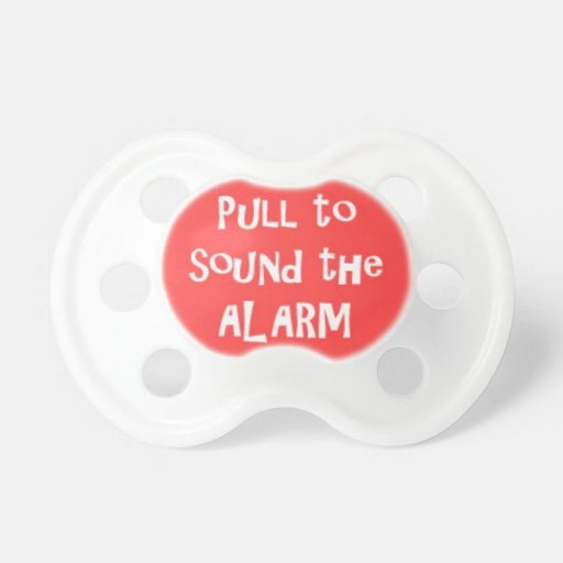 Saying Pacifiers