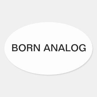 Sayings by Joe Oval Sticker