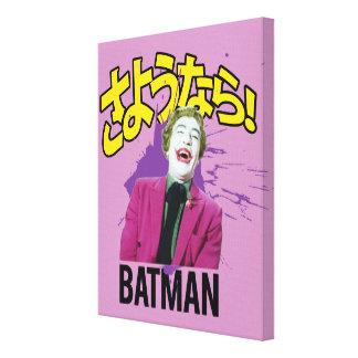 Sayonara Batman Impresiones En Lona