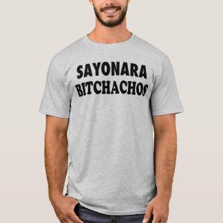 Sayonara Bitchachos Men's Grey T-Shirt