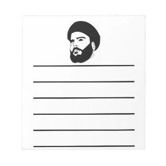 Sayyid Muqtada al-Sadr Memo Note Pads