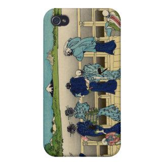 Sazai Hall, Temple of Five Hundred Rakan, Hokusai iPhone 4 Covers
