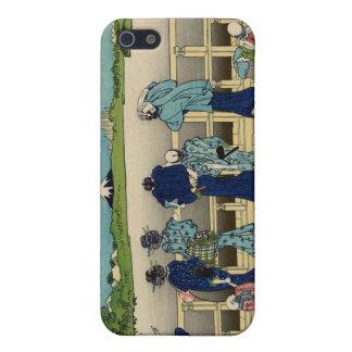 Sazai Hall, Temple of Five Hundred Rakan, Hokusai iPhone SE/5/5s Cover
