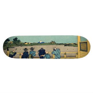Sazai hall - Temple of Five Hundred Rakan Skateboard