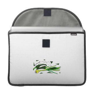 sazona el gráfico verde de los scallions con pimie funda macbook pro